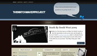 The Watchmaker Project