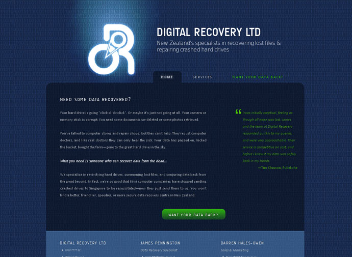 Digital Recovery
