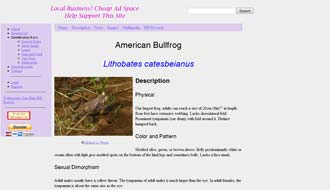 Herpetological Resource Site