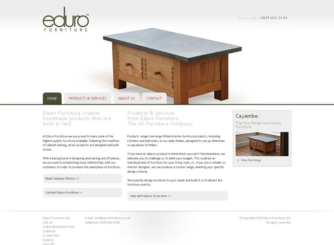 Eduro Furniture