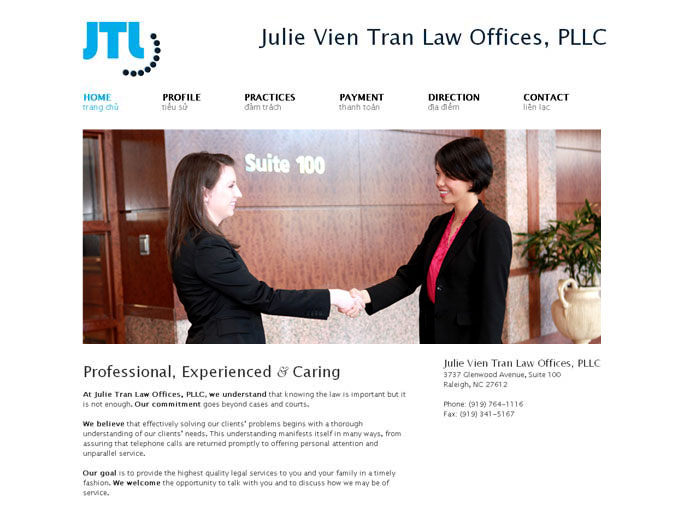 Julie Vien Tran Law