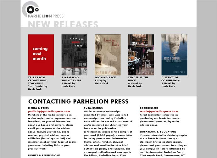 Parhelion Press