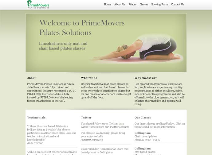 Prime Movers Pilates