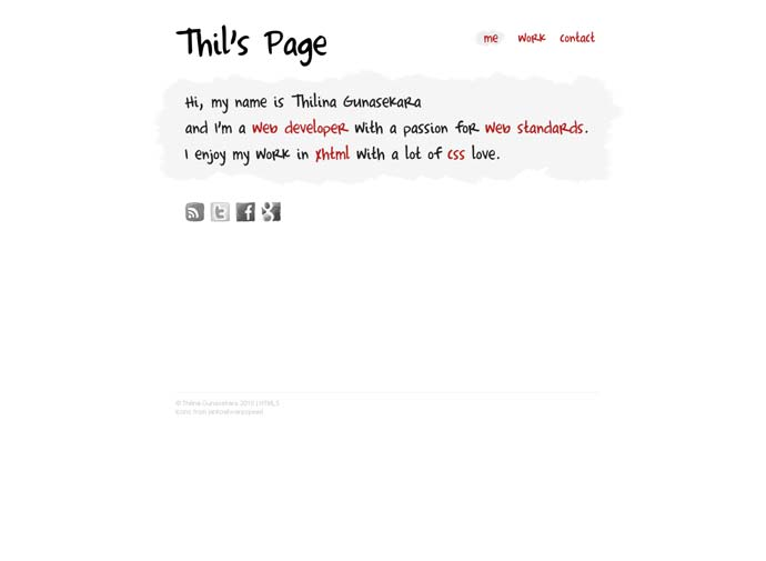 Thil's Page
