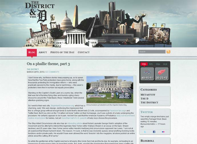 The District and the D