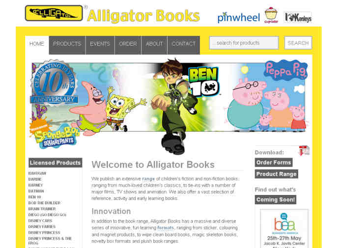 Alligator Books