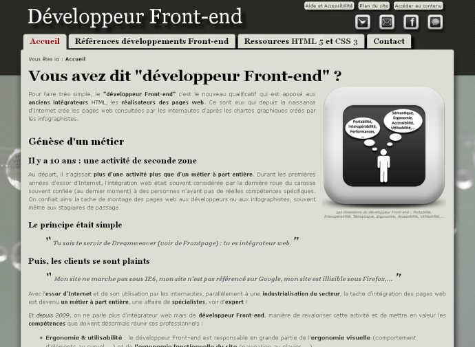 Développeur Front-end