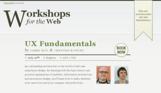 Workshops for the Web