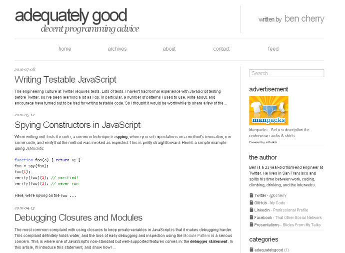 Adequately Good