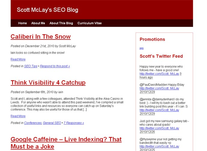 Scott McLay's SEO Blog