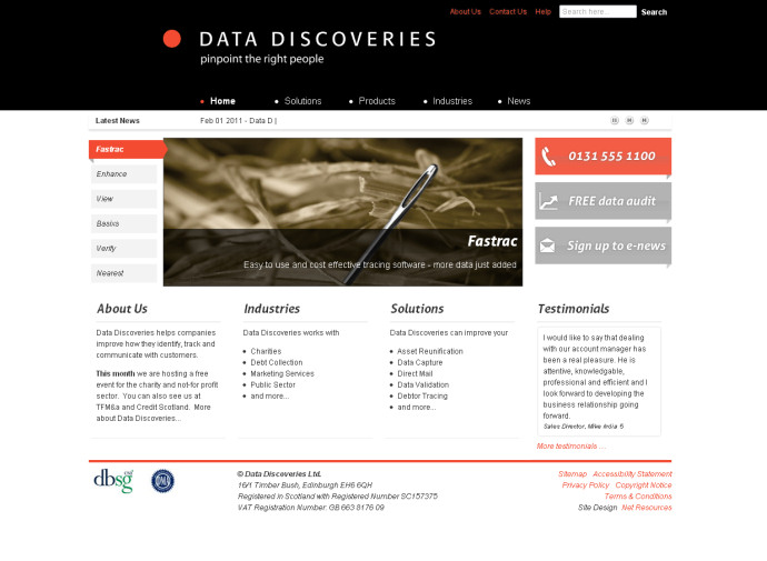 Data Discoveries