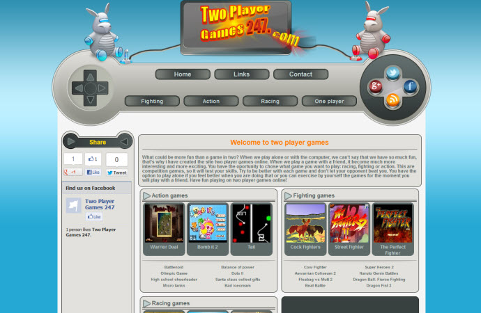 Two Player Games Online