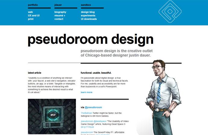 pseudoroom design